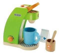 Here's a gift idea from wiggles & whimsy!  Order through amazon @ http://www.amazon.com/Hape-Playfully-Delicious-Coffee-Maker/dp/B006WZM79O/ref=as_li_ss_tl?s=toys-and-games&ie=UTF8&qid=1442255120&sr=1-3&keywords=hape&linkCode=sl1&tag=wigglwhims-20&linkId=ac1842f4f7847aad85ab7ed6132936d5&utm_content=buffer99fd1&utm_medium=social&utm_source=pinterest.com&utm_campaign=buffer #99daysuntilchristmas