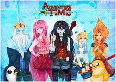 adventuretime | Adventure Time-(hora de aventura)