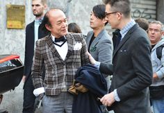 Tommy Ton's Street Style: Milan 02 Is that Marck McNairy?!