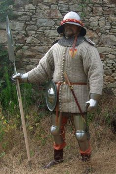 Medieval Andalusian foot soldier