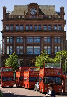 Delight in downtown Belfast's History and Architecture with an Open Top Bus Tour of the city!