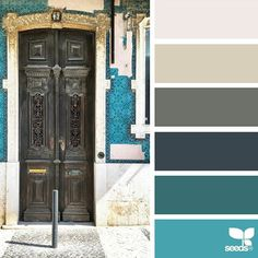 today's inspiration image for { a door hues } is by @piensaar ... thank you, Nicolette, for another incredible #SeedsColor image share!