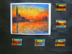 Mrs. T's First Grade Class: Mini Monet Art