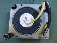 Vintage Magnavox Imperial Micromatic S.600.Imperial Turntable Record Changer #Magnavox