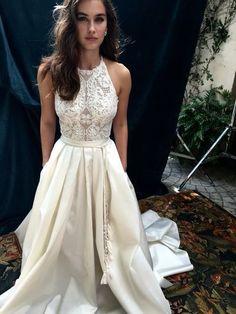 Sexy Prom Dress,Lace Top Prom Dress,Long Prom Dresses,Beautiful Prom…