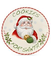 Lenox Holiday Cookies for Santa Plate