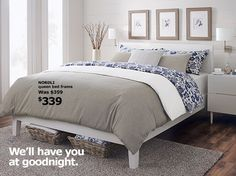 Ikea beds and ikea bed on pinterest Ikea nordli storage bed review