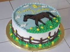 Image result for horse birthday cake