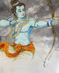 Krishna Painting, Krishna Art, Krishna Lila, Kerala Mural Painting, Indian Art Paintings, Lord Krishna Images, Krishna Pictures, Realistic Animal Drawings, Cute Drawings