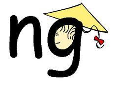 kleine chineesje ching chang chong. ng-woorden