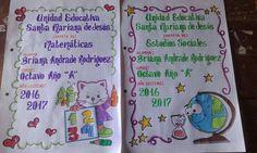 Carátulas web cuaderno Notebook Art, Cute School Supplies, Handwriting Fonts, Ideas Para, Bullet Journal, Quito, Uni, Notebooks, Creepy