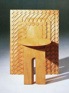 // Masatsuga Nichimura, Chair, 1988