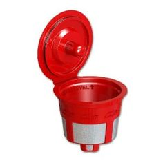 Solofill Cup, Refillable Cup For Keurig K-Cup Brewers, Red: Amazon.com: Grocery & Gourmet Food