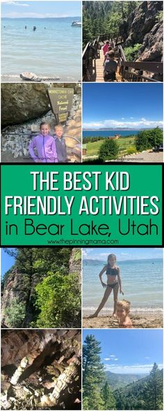 Kid-friendly Activities in Utah Summer Camp Activities, Family Activities, Utah Vacation, Vacation Spots, Utah Parks, Utah Hikes, Colorado Hiking, Family Adventure, Family Trips