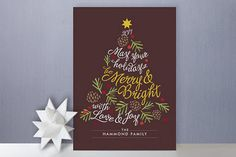Penned and Pretty...A Calligraphy Shop: ...Christmas/Holiday Card Addressing with Calligraphy...