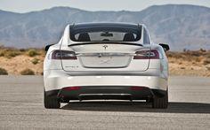 2013 Tesla Model S Rear
