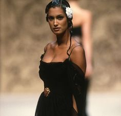 """aphroditeinfurs: """" Yasmeen Ghauri for Chanel Haute Couture Spring/ Summer…"""