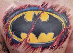 Comic book characters rule the world more than ever these days. With everything from new movies to TV and Netflix shows and, of course, comic books, dropping every other week, it's difficult for you to avoid the caped crusaders and painted face villains–and who'd want to? They're f–kin' awesome! So, sit back, relax and check out some of your favorite comic book crime fighters and evildoers tattooed by some of the world's best tattoo artists.