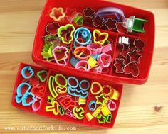 Mini cookie cutter set
