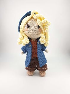 Crochet amigurumi pattern inspired by the character Cirilla of Cintra from The Witcher. The pattern is available as a standalone pattern or as part of an eBook collection with matching Geralt, Yennefer and Jaskier patterns. Art Patterns, Pattern Art, Yennefer Of Vengerberg, The Witcher, Crochet Patterns Amigurumi, Crochet Designs, Teddy Bear, Fan Art, Inspired