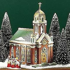 Dept 56 CIC Holy Name Church #58875 FREE SHIPPING