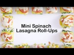 Mini Spinach Lasagna Roll-Ups recipe - from Tablespoon!