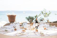 Idée de déco de table pour un mariage à la plage