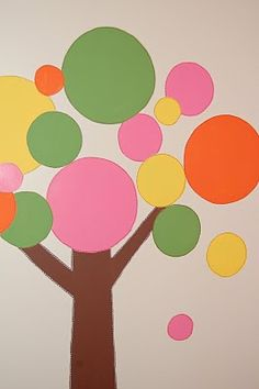 This tree idea could be used for a number of different things in the classroom.