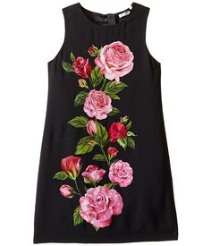 Dolce & Gabbana Kids Rose Cadi Sleeveless Dress (Big Kids)