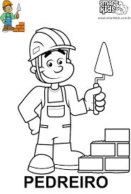 Image result for desenhos de profissões para colorir