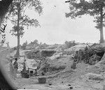 The Battle of the Crater, part of the Petersburg Campaign, was the result of an unusual attempt, on the part of Union forces, to break through the Confederate defenses just south of the critical railroad hub of Petersburg, Virginia, during the American Civil War (1861–1865). For several weeks, Pennsylvania miners in Union general Ambrose E. Burnside's Ninth Corps worked at digging a long tunnel, packed the terminus with explosives, and then on the morning of July 30, 1864, blew it up.