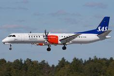 Scandinavian Airlines System (SAS) Saab 2000