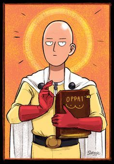 One Punch Man as a Byzantine-era Jesus painting. I was frustrated and studying for Art History and this just happened. The Prophet Saitama (One Punch Man) One Punch Man Anime, Saitama One Punch Man, One Punch Man Memes, One Punch Man 3, One Punch Man Funny, One Punch Man Poster, Anime Ai, Manga Anime, Anime Meme