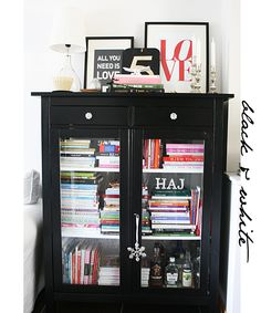 MY INITIALS ARE IN THIS BOOKCASE! I'd  love this in my room next year!