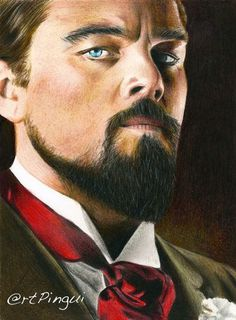 Drawing of @leonardodicaprio #django