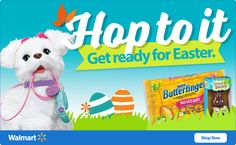 Click on any of the links below to be directed to amazing savings at Walmart!! Find Bracket-Busting Savings on Game Time Essentials at Walmart.com! Get Ready for Easter with Great Savings at Walmar...