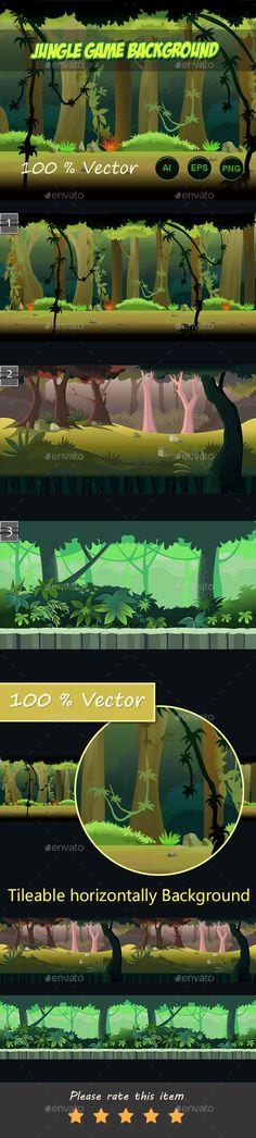 jungle run game background Download here: https://graphicriver.net/item/jungle-run-game-background/11542244?ref=KlitVogli
