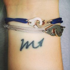 Scorpio Zodiac Sign Tattoo on Wrist for Girls