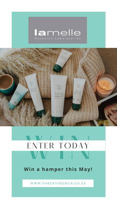 Enter to win a Lamelle Research Laboratories Hamper valued at over R2000!
