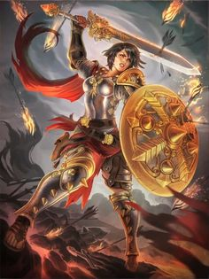 SMITE-HiRez Bellona, Goddess of War