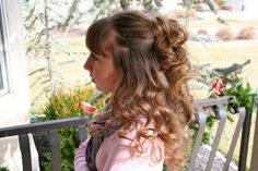 No-Heat Hairstyles | Headband Curls and more Hairstyles from CuteGirlsHairstyles.com