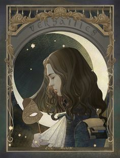 the moon by on DeviantArt Versailles Bbc, Versailles Tv Series, Pretty Drawings, Beautiful Drawings, Love Tv Series, Louis Xiv, Pics Art, Film, Art World