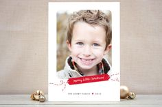 #28. Merry Little Gift Tag by @Jana from Alberta, Canada. Announcing @Minted #Holiday2012 design challenge winners.