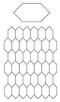 English Paper Piecing (EPP) free templates / Tutorials