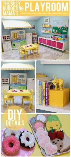 10 great playroom ideas from budget-friendly projects to personalized name art! by sharene