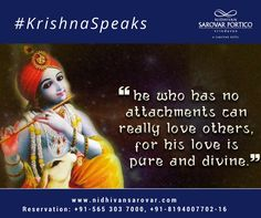 He is everywhere, inside everyone. Feel His divine presence in your life and proceed to a blissful journey. Treat every failure as opportunity. Let's start the week on a productive & positive note. Radhe Krishna! For Reservation: +91 565 303 7000, +91-8194007702- 16 Or, Visit Us: www.nidhivansarovar.com #KrishnaSpeak #KrishnaQuotes #SpiritualQuotes #RadhaKrishna #Krishna #Vrindavan #NidhivanSarovarPortico #BestHotelinVrindavan