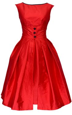 There will always be a place in my heart for a classic 60's dress. They do fabulous things for the figure.