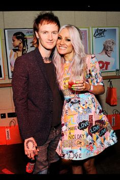 Tom Atkin. Lou Teasdale. The Craft launch party