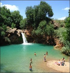Pego do Inferno near Tavira in Portugal... Paradise,don't you agree?O meu Pais é lindo!! #portugaltravel