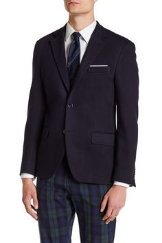 Logan Textured Slim Fit Sport Coat